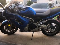 2007 Kawasaki Ninja 650r in Hampton, Virginia