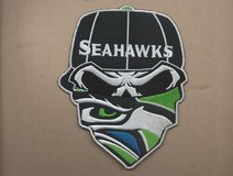 """SEATTLE SEAHAWKS  IRON ON PATCHES  ( 3 designs... approx. 4""""X6"""") *** NEW *** in Tacoma, Washington"""