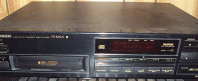 Pioneer PD-M501 6 CD Compact Disc Player Changer in Lockport, Illinois