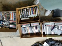 Lots of dvd in Plainfield, Illinois