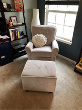 baby room rocking chair and ottoman in Algonquin, Illinois