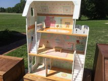 Wooden Barbie Doll House in Fort Riley, Kansas