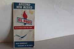 El Paso Red Flame Arizona/NewMexico Map  (Reduced) This Week 9/29-10/7 in Alamogordo, New Mexico