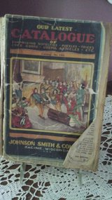 Antique Johnson Smith & Company Mail Order Catalog from the 1920's in Glendale Heights, Illinois