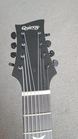 Seattle by QUINCY 8 string electric guitar BLACK (curved body) in Grafenwoehr, GE