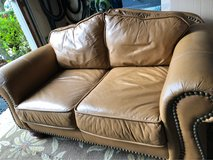 : ) Leather Love Seat !!!   Awesome in Lockport, Illinois