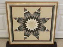 Roberta Adkins Star Quilt Signed Numbered Classic Pattern Art Print in Bartlett, Illinois