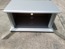 """Silver/Gray Wooded TV Stand 14""""x22""""x26"""" in Spring, Texas"""