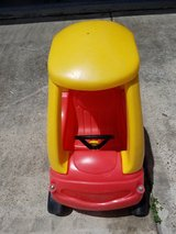 Little Tikes Cozy Coupe, Red/Yellow - in Kingwood, Texas