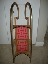 Antique German Snow Sleigh in Fort Meade, Maryland