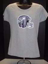 SEATTLE SEAHAWKS -  NFL Team Apparel Women's T-Shirt (Grey Med. & Large) *** NEW *** in Fort Lewis, Washington