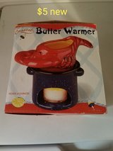 Crab butter warmer in Vacaville, California