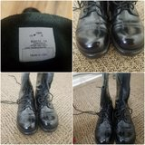 Jump boots in Fort Campbell, Kentucky