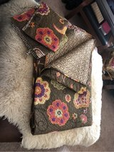 Twin bedspread and two shams in Westmont, Illinois