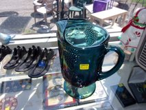 Carnival Glass Pitcher in Fort Riley, Kansas