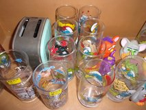 Smurf Drinking Glass Collection in Fort Riley, Kansas