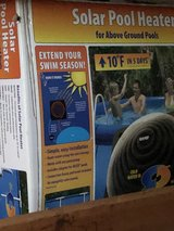 Solar dome above ground pool heater in Bolingbrook, Illinois
