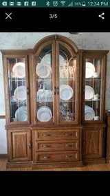 FREE! Beautiful Etched Glass Hutch and Server (Glen Ellyn) in Bartlett, Illinois