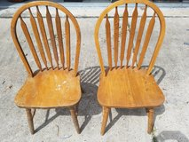 """Solid Wood Dining Chairs 17""""x19""""x36"""" in Spring, Texas"""