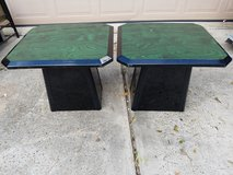 "(2) Wooded Side Table 22""x22""x24"" in Spring, Texas"