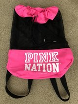 Brand New pink mesh sackpack by Victoria's Secret in Fairfield, California