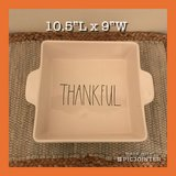 New Rae Dunn THANKFUL Casserole Dish in Fort Eustis, Virginia