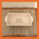 Rae Dunn New SHARE Loaf Dish in Fort Eustis, Virginia