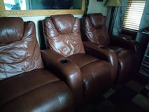 3 Theater Chairs in Yorkville, Illinois