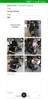Sit & stand double stroller in Fairfield, California
