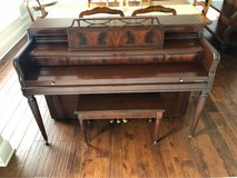Piano built by Baldwin 1960's in Oswego, Illinois