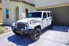2017 Jeep Wrangler Unlimited ***Winter Edition*** Fully Loaded less than 12.5K miles $$Price Red... in Las Vegas, Nevada
