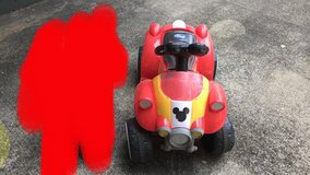 Mickey Mouse Riding Toy in Schofield Barracks, Hawaii