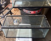 (2)20gal tanks for trade in Yucca Valley, California