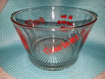 Vintage Coca-Cola glass snack bowl or ice bucket in Bolingbrook, Illinois