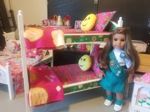GIRL SCOUT BUNKBEDS FITS AMERICAN GIRL DOLLS in Morris, Illinois
