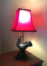 Excellent Rooster Lamp in Mint Condition!  Gorgeous! in Beaufort, South Carolina