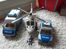 playmobil police cars and helicopter in Ramstein, Germany