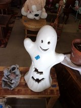 Ceramic Ghost Decoration in Fort Riley, Kansas