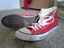 Red Converse in Fort Knox, Kentucky