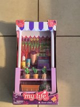 """18"""" Doll Flower Stand w/Accessories New in Box in Fairfield, California"""