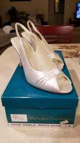 White Wedding shoes in Camp Lejeune, North Carolina