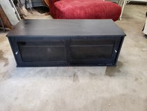 TV Stand With Sliding Glass Doors! in Warner Robins, Georgia