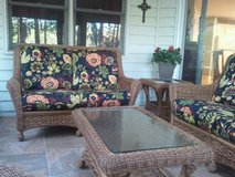 HIgh Quality Indoor/Outdoor Wicker Set in Beaufort, South Carolina