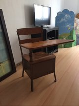 Antique school desk with chair in Ramstein, Germany