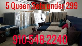 Fall Sale,New Queen Euro top mattress sets,still in plastic in Wilmington, North Carolina