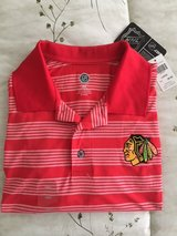 Chicago Blackhawks NHL Men's Polo/Golf Shirt Short-Sleeve Size Large New in West Orange, New Jersey