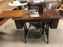 Antique Treadle Machine Singer in Bartlett, Illinois
