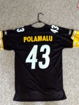 Troy Polamalu XL official Superbowl XLIII jersey in Wilmington, North Carolina