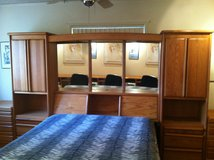 Solid Oak Bedroom Furniture in excellent condition in Yucca Valley, California