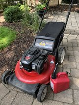 Lawn Mower w Bag. works great !!! in Plainfield, Illinois